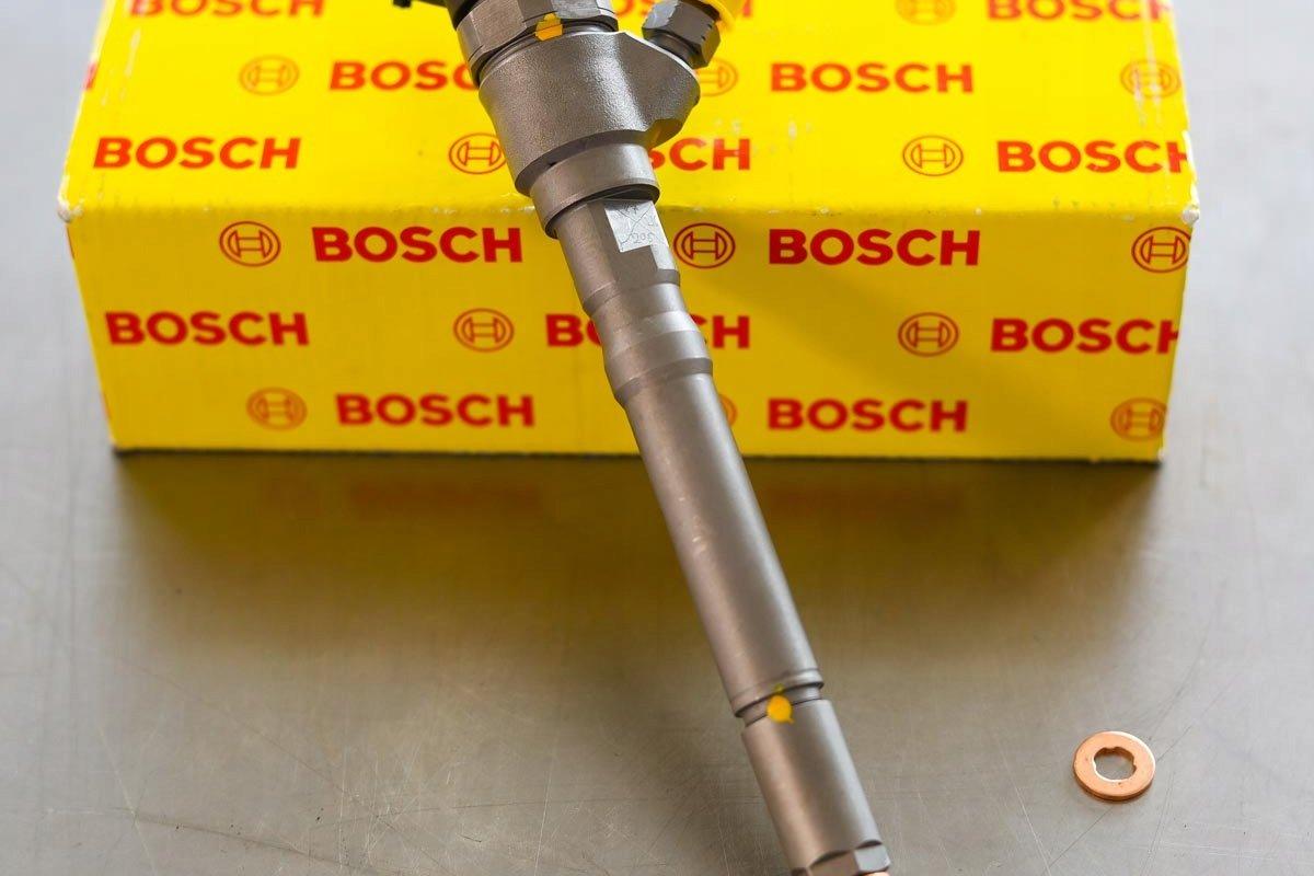 Wtryskiwacz Bosch zregenerowany gotowy do wysłania do kupującego z gwarancją na 2 lata w dobrej cenie
