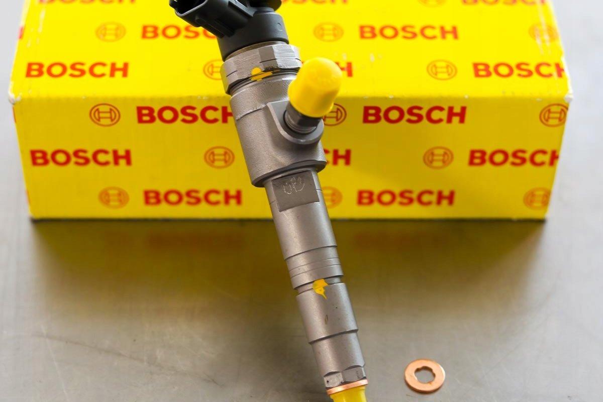 Wtryskiwacz Bosch zregenerowany przygotowany do nadania do mechanika z gwarancją w korzystnej cenie