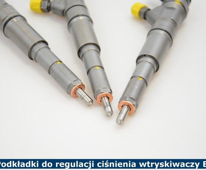 Podkładki do regulacji ciśnienia wtryskiwaczy Bosch