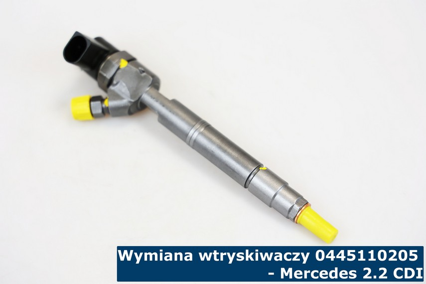 Wtryski Bosch Common Rail 0445110206