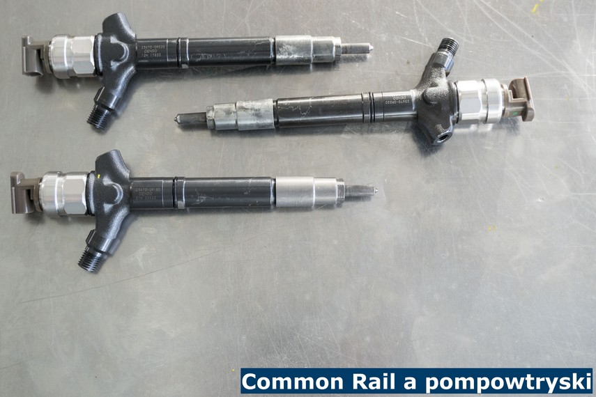 Common Rail a pompowtryski